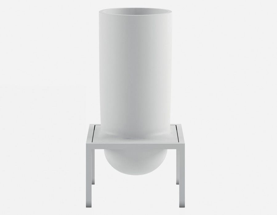 Vase Flow bowl by Nendo 10O