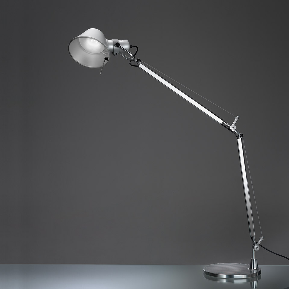 Tolomeo LED Table + base (Détection de mouvement)
