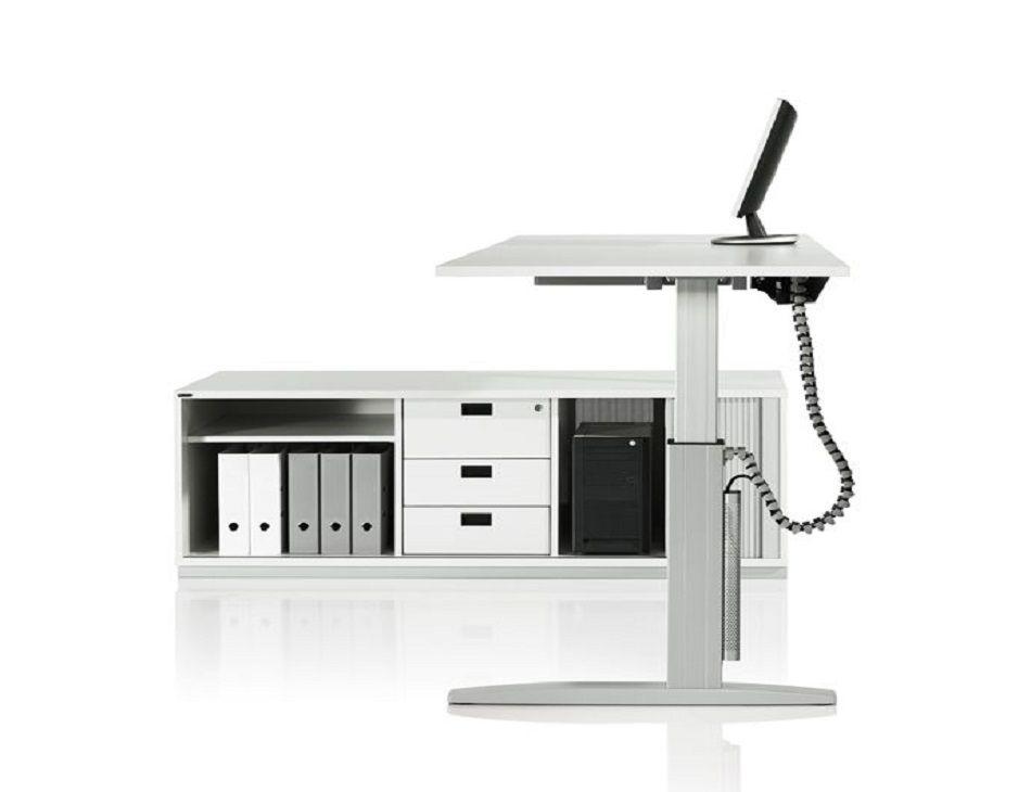Mobilier de bureau assis deboutréglable en hauteur