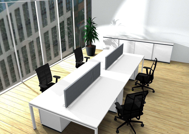 Mobilier de bureau ergonomique sit stand réglable en hauteur