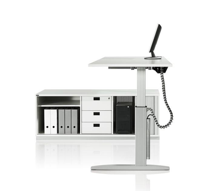 Mobilier de bureau assisdebout rglable en hauteur lectrique