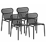 Chaises OUTDOOR Week end (lot de 4)